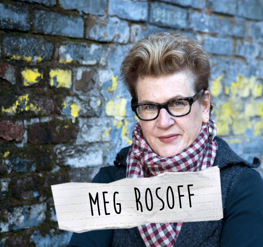 Bladen brinner intervjuar Meg Rosoff