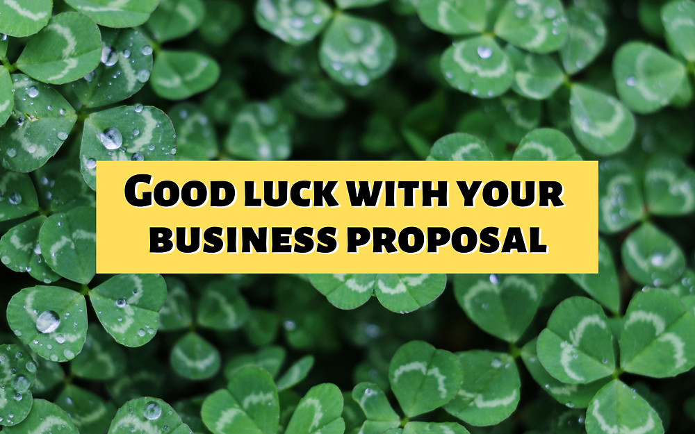 How to write business proposal