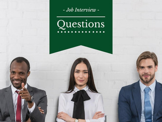 Common Interview Questions                   面試熱門問題!