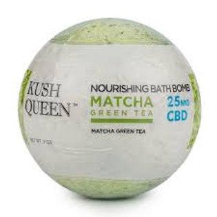 Matcha CBD Bath Bomb 25mg