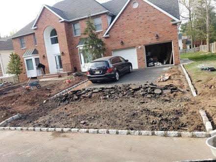 rebuild driveway