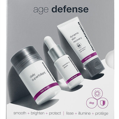 AGE Defense Skin Kit Radiant age defense: smooth + brigh