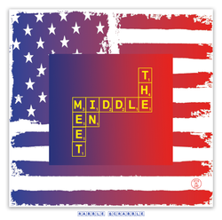 RABBLE SCRABBLE-MEET IN THE MIDDLE