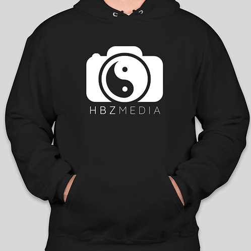 HBZ Media Hoodies (Black & White)