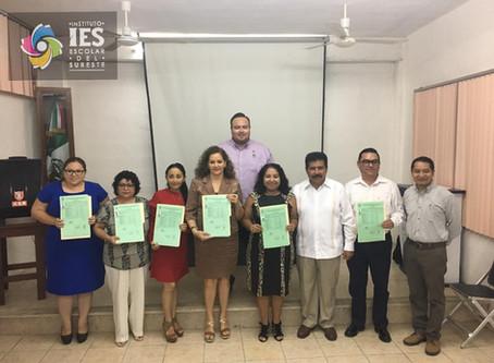Entrega de Certificados de la 1º Generación de la Maestría en Desarrollo Social #IES.