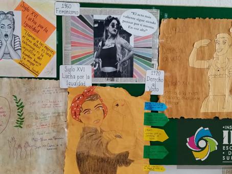 Exposición: Los Derechos Humanos de la Mujer, Licenciatura en Pedagogía #IES