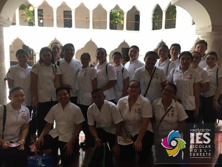 Licenciatura en Enfermería #IES, participación en la 13ª Feria de la Salud UADY 2019