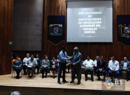 Entrega de Convenio, Red Nacional de Instituciones de Educación Superior en Trabajo Social 2019 #IES