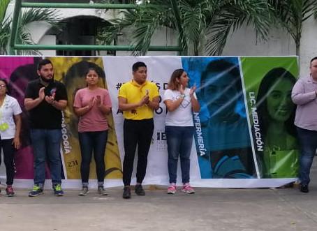 Presentación de los participantes al certamen Embajadores IES 2019