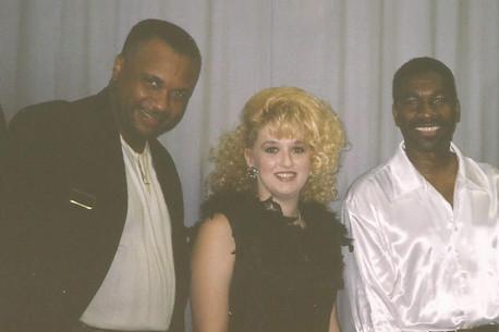 Stephanie with Alvin Johnson and Rocky Williams .jpg