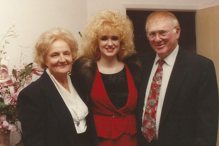 With Pastors Owen and Irene Cain, founders of Romans VIII Ministries.