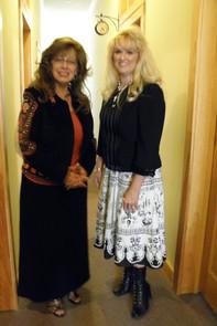 Stephanie with Mary Faye Jackson.