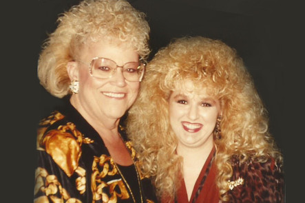 Stephanie with Nancy Harmon.
