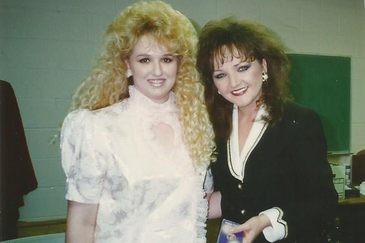 Stephanie with Karen Wheaton