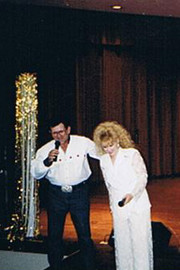 "Singing ""The Devil's In The Phone Booth Dialing 911"" with my long time friend James Stephens.."