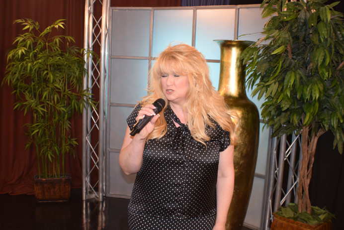 "Singing ""Testify"" for the Come and Dine TV Program."