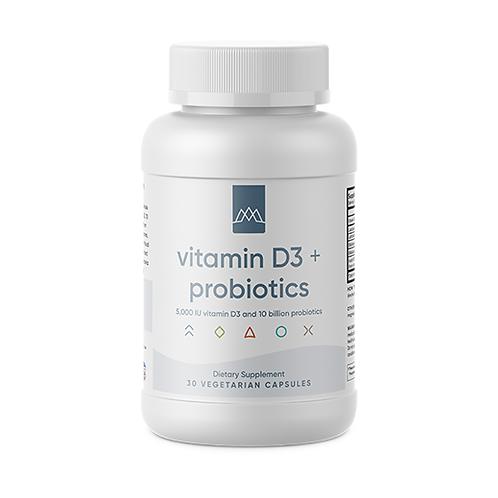 Vitamin D3 + Probiotics