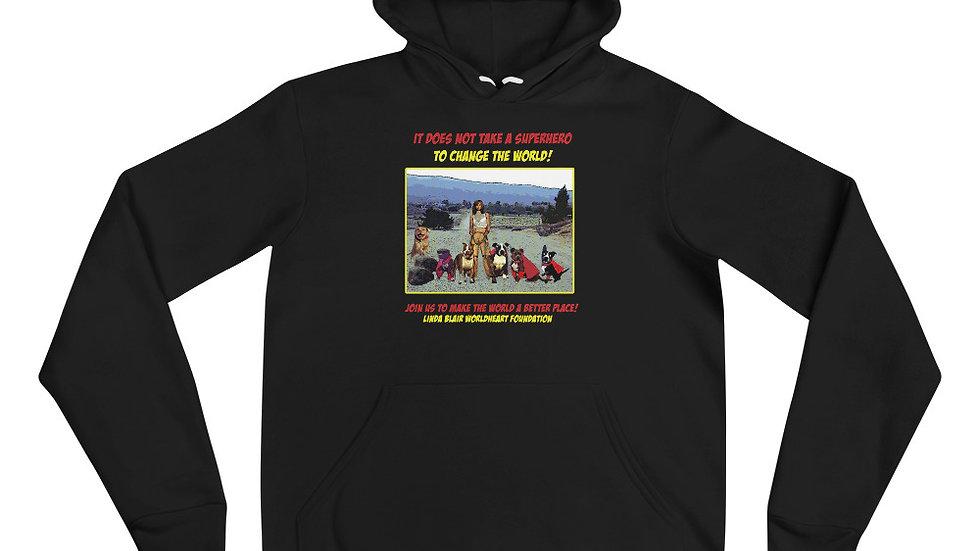 LBWF Superheroes Unisex hoodie
