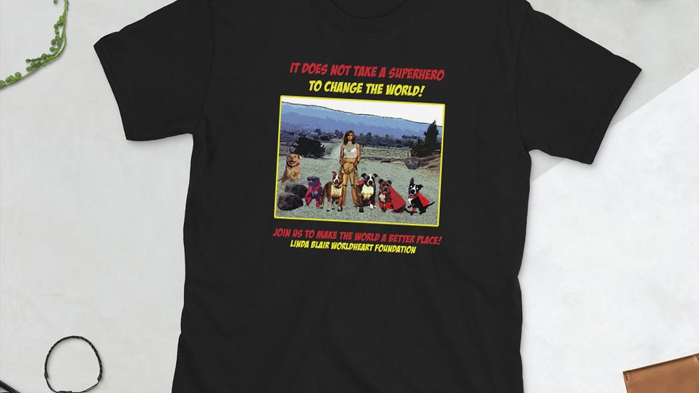 LBWF Superheroes Short-Sleeve Unisex T-Shirt