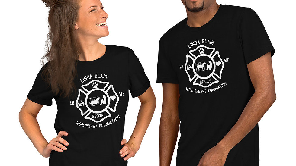 LBWF Rescue Shield Short-Sleeve Unisex T-Shirt