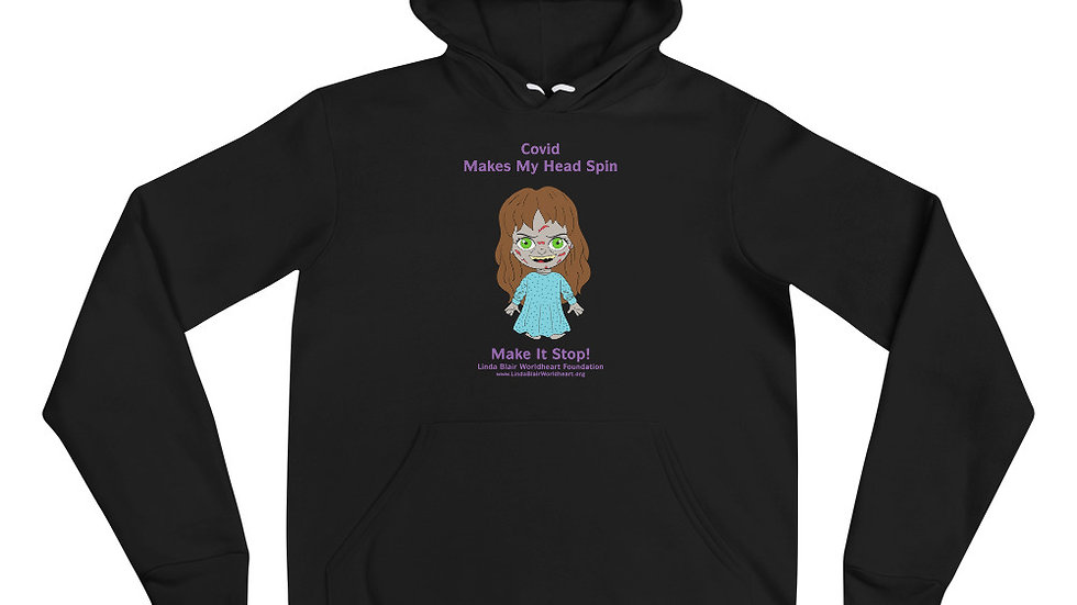 Special Limited Edition Covid Makes My Head Spin Unisex hoodie