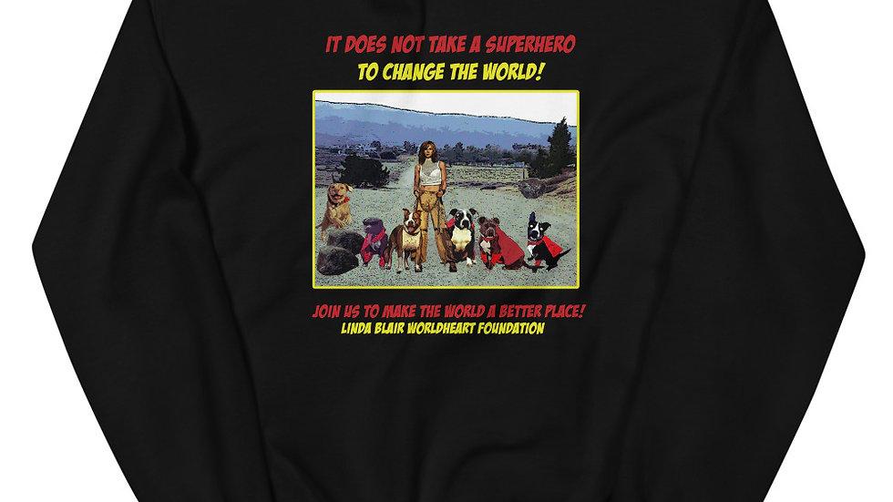 LBWF Superheroes Unisex Sweatshirt