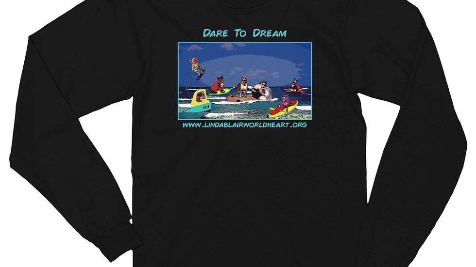 LBWF Dare To Dream Unisex Long sleeve t-shirt