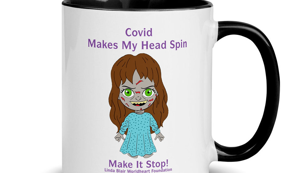 Special Limited Edition Covid Makes My Head Spin 11 OZ Mug