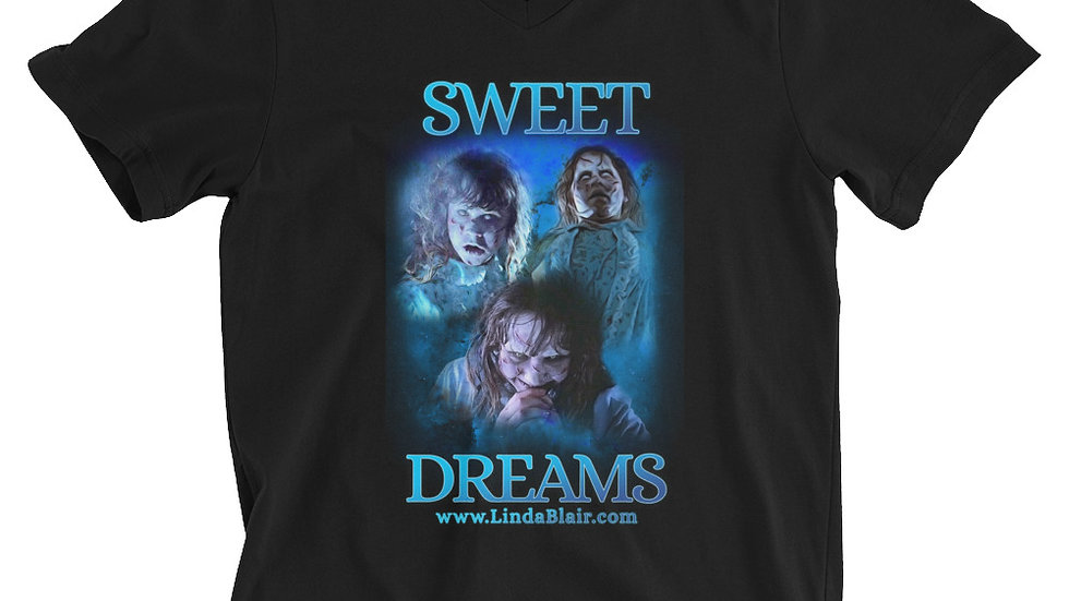 Special Limited Edition Sweet Dreams Unisex Short Sleeve V-Neck T-Shirt