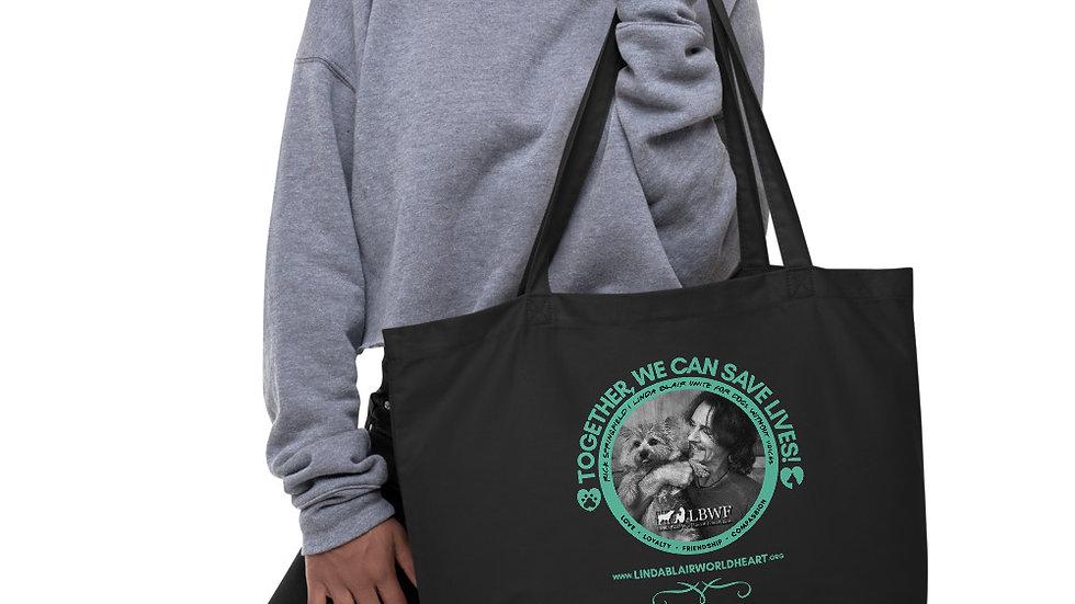 RICK Large organic tote bag
