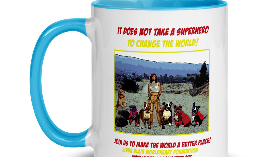 LBWF Superheroes 11 OZ Mug
