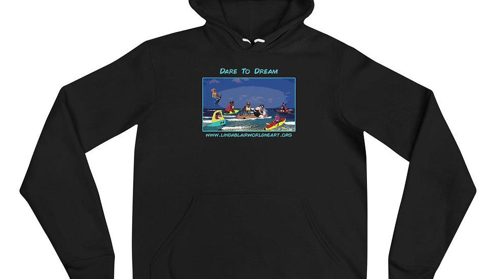 LBWF Dare To Dream Unisex hoodie