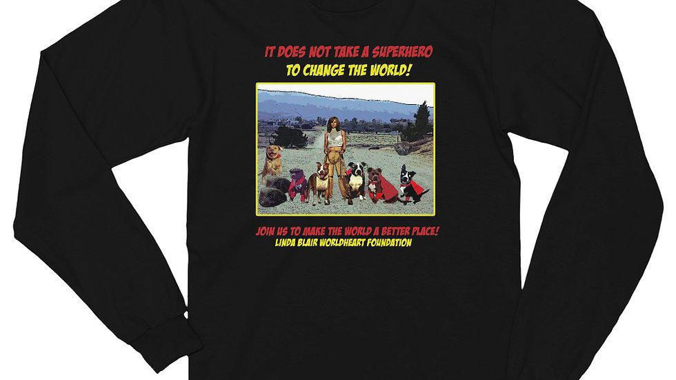 LBWF Superheroes Unisex Long sleeve t-shirt