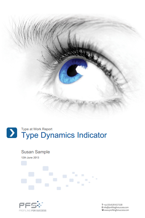 TYPE DYNAMICS INDICATOR