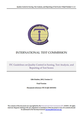 ITC Guidelines on Quality Control in Test Scoring Analysis & Reporting Cover.png