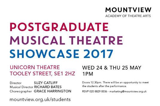 Mountview Showcase - 2017