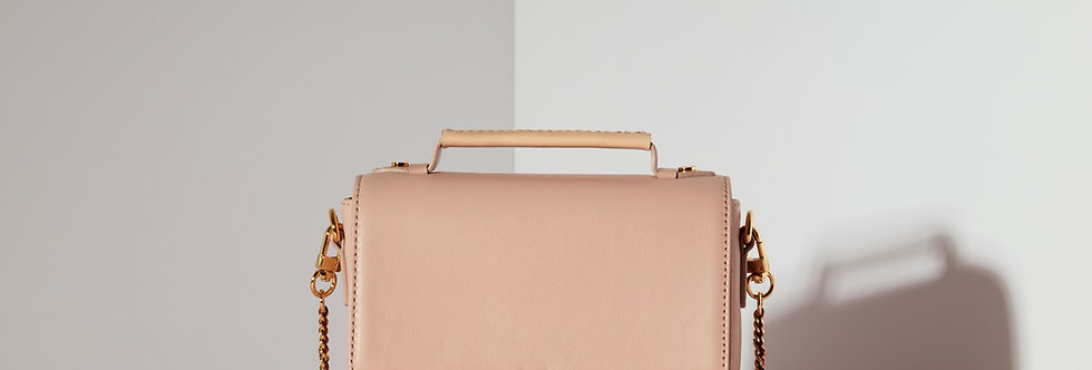 Elise Mini Satchel -Blush Pink
