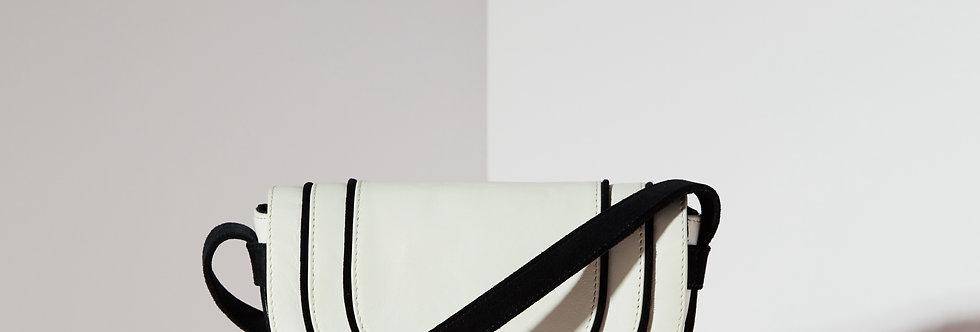 Rita Mini Crossbody - White