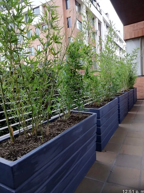 Jardineras Acanaladas
