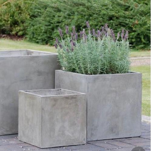 Cubos en cemento
