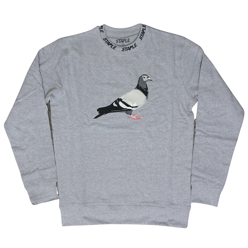 STAPLE LOOPBACK CREWNECK