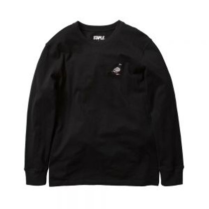 STAPLE COTTON LONG SLEEVE TEE