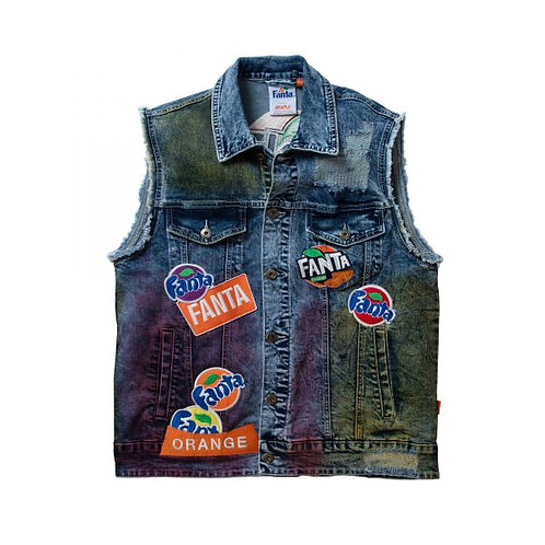 STAPLE X FANTA DENIM VEST