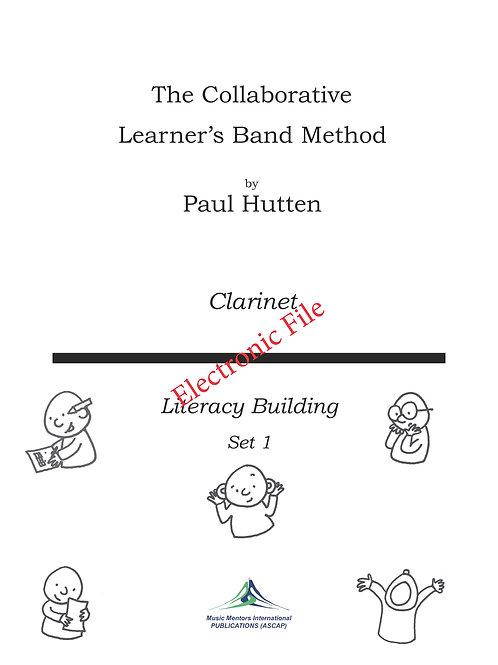 Collaborative Learner Method Book: Clarinet Set 1.