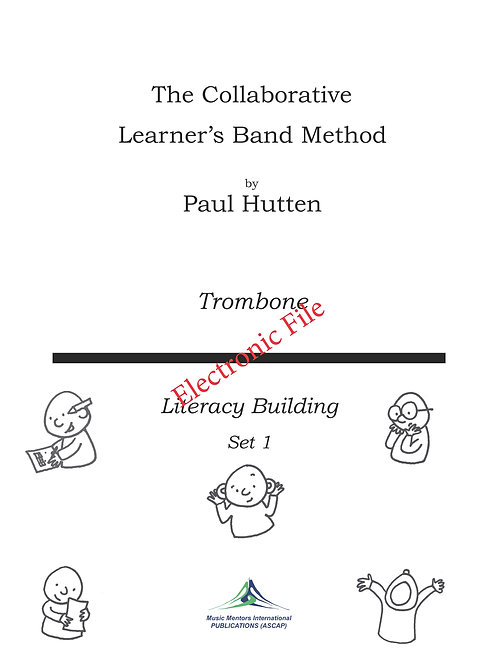 Collaborative Learner Method Book: Trombone Set 1