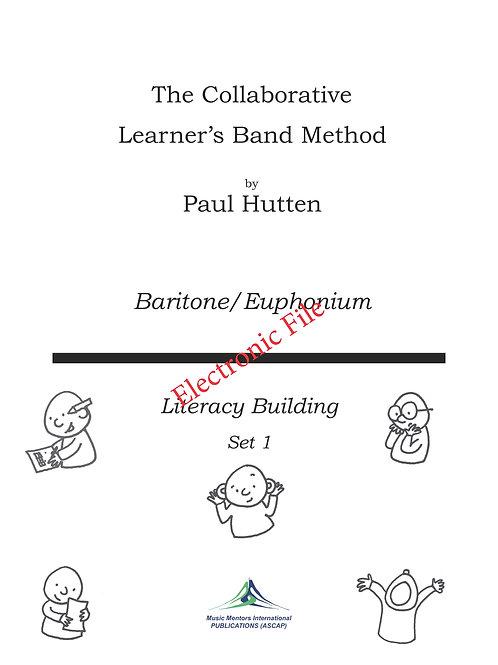 Collaborative Learner Method Book: Baritone/Euphonium Set 1