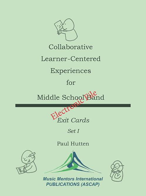 Exit Cards Set 1