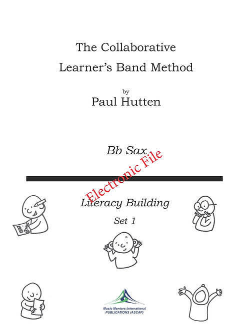 Collaborative Learner Method Book: Bb Saxophone Set 1