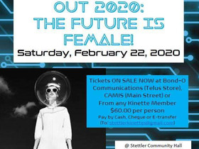 2/10 Kinettes fundraiser 'The Future is Female' on Feb. 22