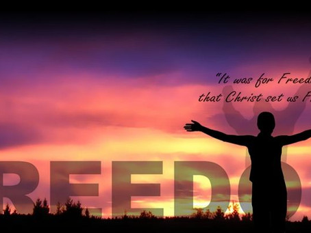 For Freedom, Christ Set Us Free